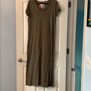 C&C California maxi t shirt dress